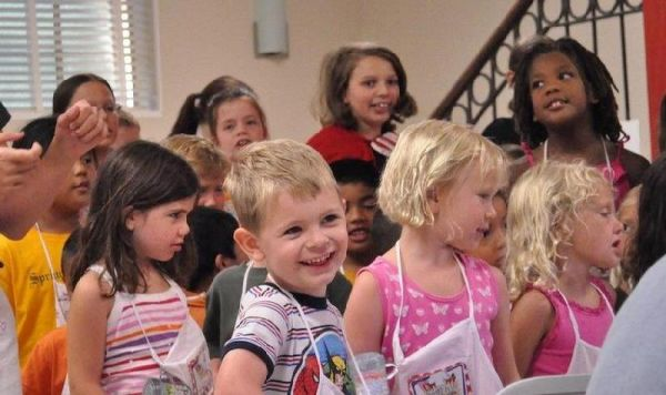 Children's Chapel and Sunday School Orientation